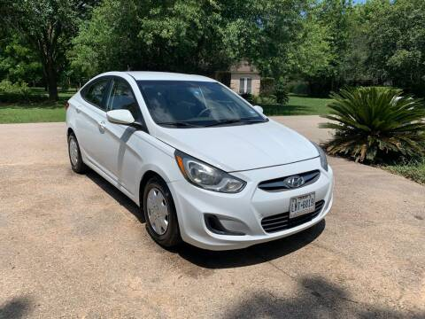 2014 Hyundai Accent for sale at CARWIN MOTORS in Katy TX