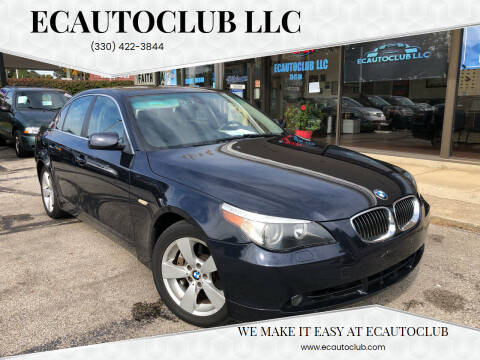 2006 BMW 5 Series for sale at ECAUTOCLUB LLC in Kent OH
