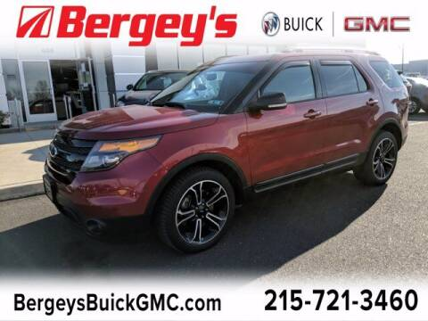 2015 Ford Explorer for sale at Bergey's Buick GMC in Souderton PA
