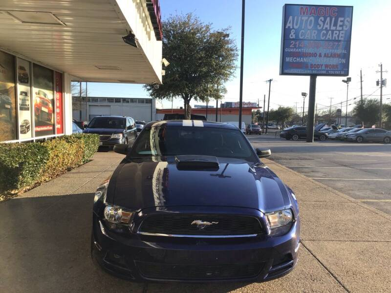 2013 Ford Mustang for sale at Magic Auto Sales in Dallas TX