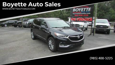 2020 Buick Enclave for sale at Auto Group South - Boyette Auto Sales in Covington LA
