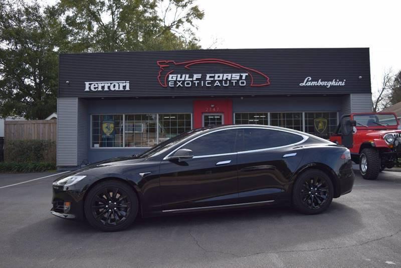 2017 Tesla Model S for sale at Gulf Coast Exotic Auto in Biloxi MS