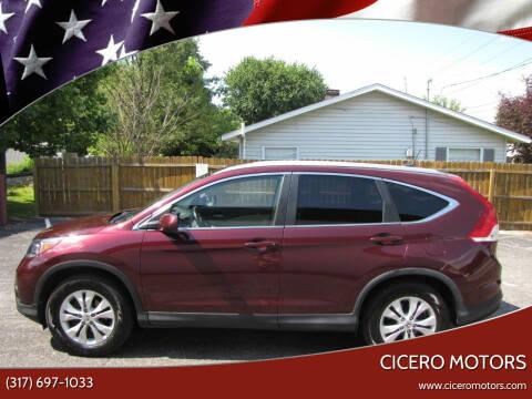 2013 Honda CR-V for sale at Cicero Motors in Cicero IN