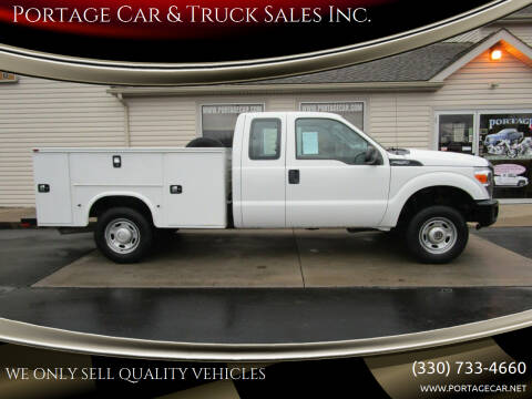 2015 Ford F-250 Super Duty for sale at Portage Car & Truck Sales Inc. in Akron OH