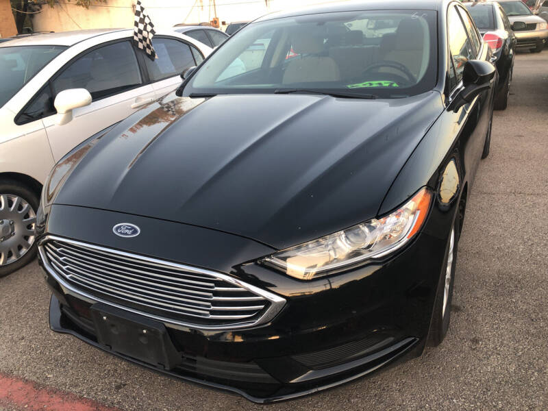 2017 Ford Fusion for sale at Auto Access in Irving TX