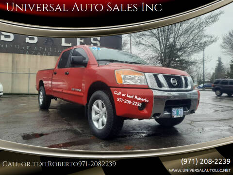 2009 Nissan Titan for sale at Universal Auto Sales Inc in Salem OR