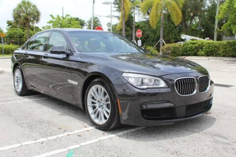 2015 BMW 7 Series for sale at Truck and Van Outlet in Miami FL