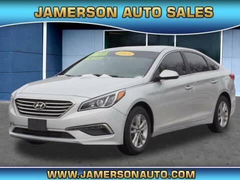 2015 Hyundai Sonata for sale at Jamerson Auto Sales in Anderson IN