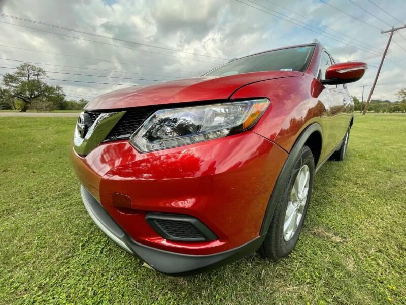 2015 Nissan Rogue for sale at Carz Of Texas Auto Sales in San Antonio TX