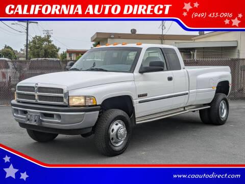 2000 Dodge Ram Pickup 3500 for sale at CALIFORNIA AUTO DIRECT in Costa Mesa CA
