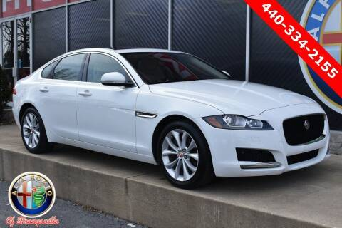 2017 Jaguar XF for sale at Alfa Romeo & Fiat of Strongsville in Strongsville OH