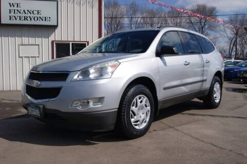 2012 Chevrolet Traverse for sale at Dealswithwheels in Inver Grove Heights/Hastings MN