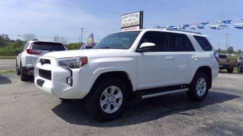 2016 Toyota 4Runner for sale at Premier Auto Sales Inc. in Big Rapids MI