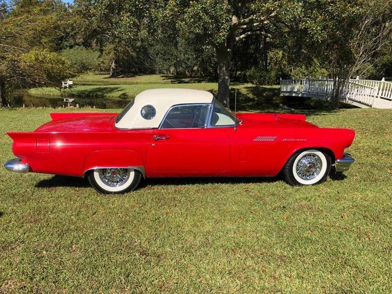 1957 Ford Thunderbird E bird for sale at Bayou Classics and Customs in Parks LA