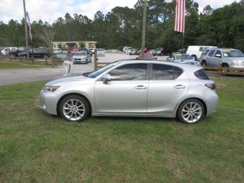 2012 Lexus CT 200h for sale at Ward's Motorsports in Pensacola FL