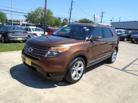 2012 Ford Explorer for sale at BAS MOTORS in Houston TX