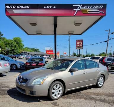 2008 Nissan Maxima for sale at Fletcher Auto Sales in Augusta GA