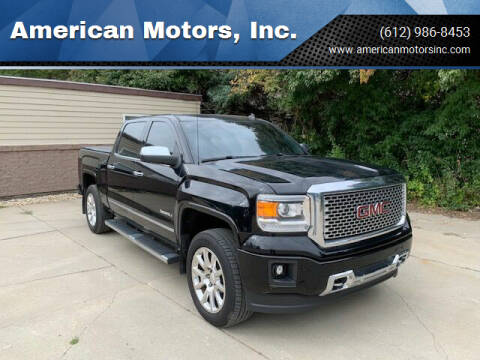 2014 GMC Sierra 1500 for sale at American Motors, Inc. in Farmington MN