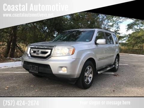 2009 Honda Pilot for sale at Coastal Automotive in Virginia Beach VA
