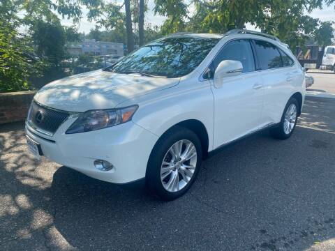 2012 Lexus RX 450h for sale at ANDONI AUTO SALES in Worcester MA
