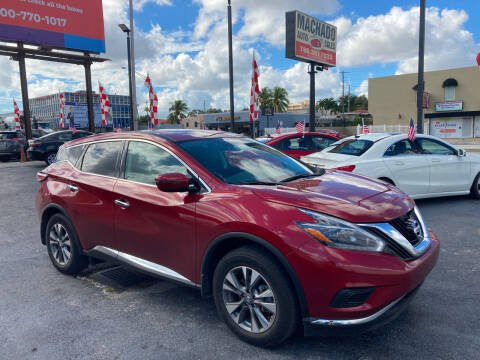 2018 Nissan Murano for sale at MACHADO AUTO SALES in Miami FL