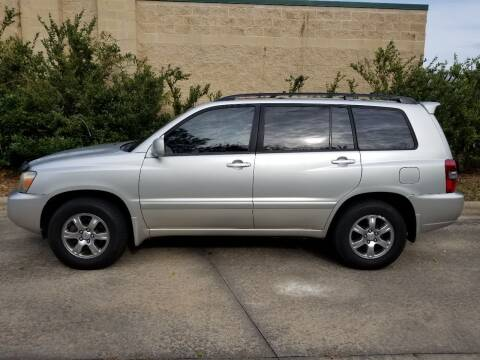 2004 Toyota Highlander for sale at Hollingsworth Auto Sales in Wake Forest NC