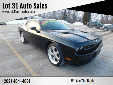 2009 Dodge Challenger for sale at Lot 31 Auto Sales in Kenosha WI