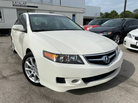 2007 Acura TSX for sale at KAYALAR MOTORS in Houston TX