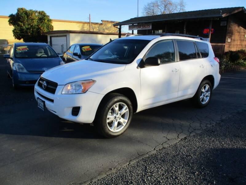 2012 Toyota RAV4 for sale at Manzanita Car Sales in Gridley CA