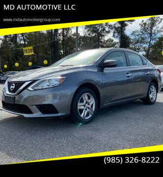 2016 Nissan Sentra for sale at MD AUTOMOTIVE LLC in Slidell LA