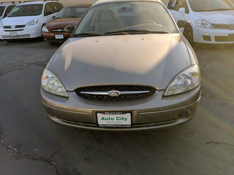 2003 Ford Taurus for sale at Auto City in Redwood City CA