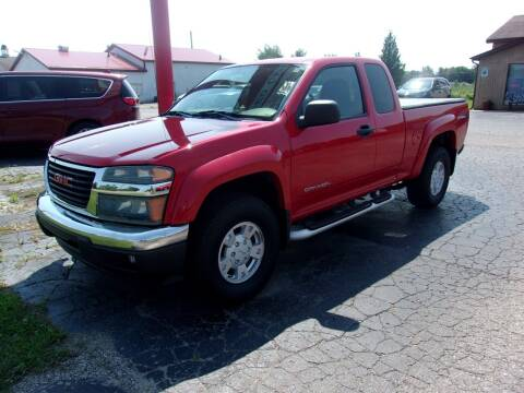 2005 GMC Canyon for sale at DAVE KNAPP USED CARS in Lapeer MI
