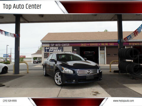 2013 Nissan Maxima for sale at Top Auto Center in Quakertown PA