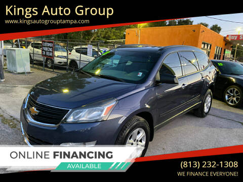 2013 Chevrolet Traverse for sale at Kings Auto Group in Tampa FL