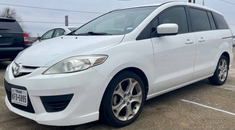 2010 Mazda MAZDA5 for sale at Driveline Auto Solution, LLC in Wylie TX
