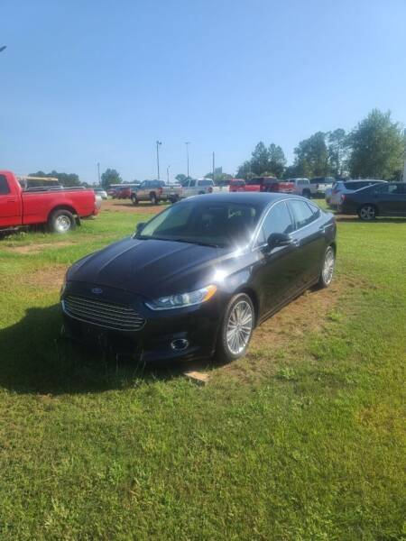 2013 Ford Fusion for sale at Lakeview Auto Sales LLC in Sycamore GA