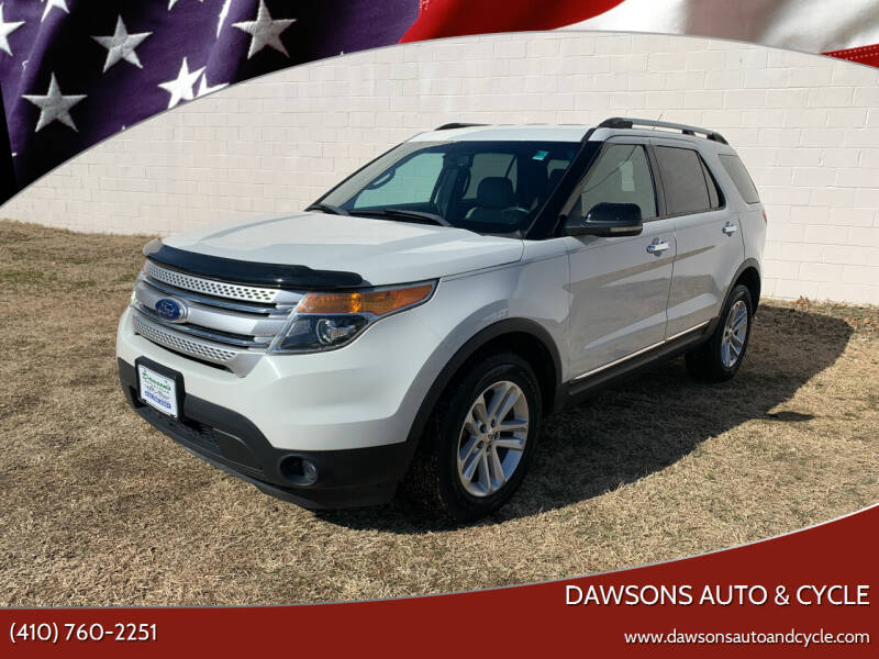 2011 Ford Explorer for sale at Dawsons Auto & Cycle in Glen Burnie MD