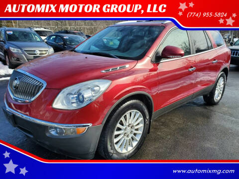 2012 Buick Enclave for sale at AUTOMIX MOTOR GROUP, LLC in Swansea MA