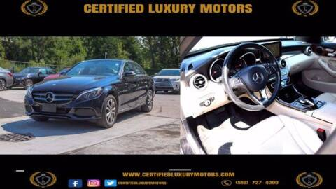 2015 Mercedes-Benz C-Class for sale at Certified Luxury Motors in Great Neck NY