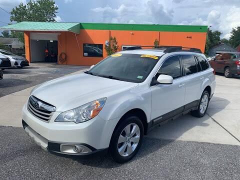 2012 Subaru Outback for sale at Galaxy Auto Service, Inc. in Orlando FL