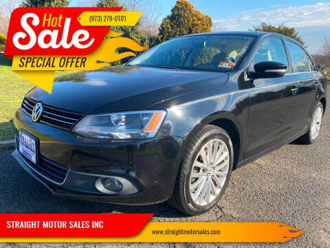 2011 Volkswagen Jetta for sale at STRAIGHT MOTOR SALES INC in Paterson NJ