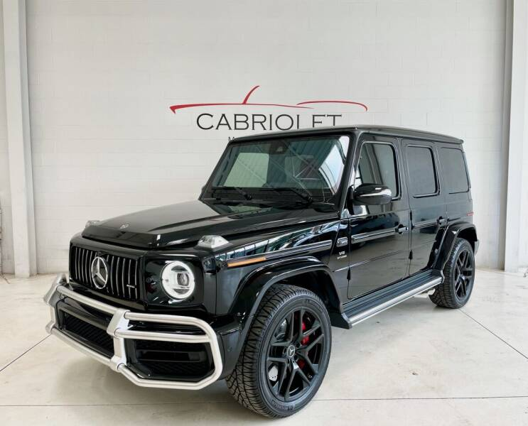 2021 Mercedes-Benz G-Class for sale at Cabriolet Motors in Morrisville NC