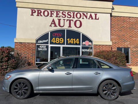 2015 Audi A6 for sale at Professional Auto Sales & Service in Fort Wayne IN