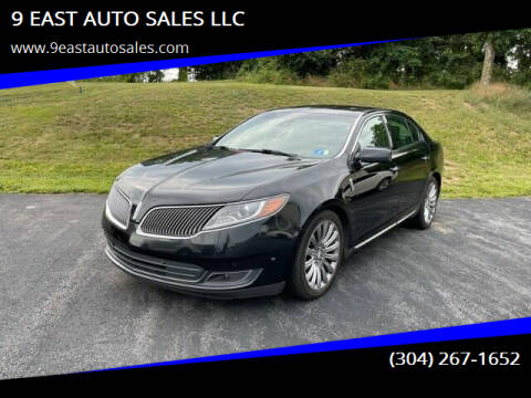 2013 Lincoln MKS for sale at 9 EAST AUTO SALES LLC in Martinsburg WV