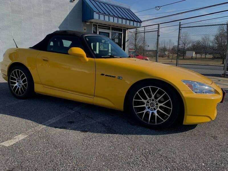 2005 Honda S2000 for sale at Fuentes Brothers Auto Sales in Jessup MD
