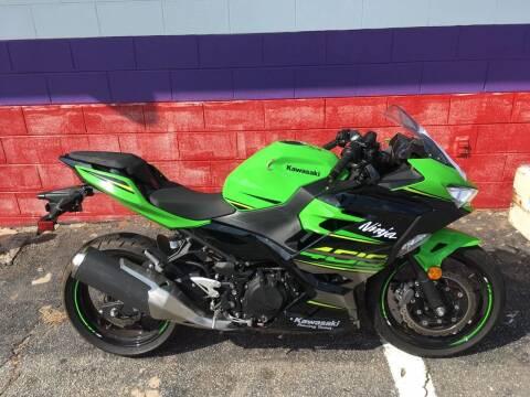2018 Kawasaki EX400 for sale at Rick's Cycle in Valdese NC