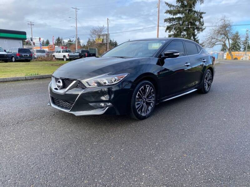 2016 Nissan Maxima for sale at Apex Motors Parkland in Tacoma WA