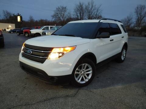 2015 Ford Explorer for sale at Cruisin' Auto Sales in Madison IN
