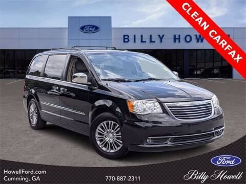 2013 Chrysler Town and Country for sale at BILLY HOWELL FORD LINCOLN in Cumming GA