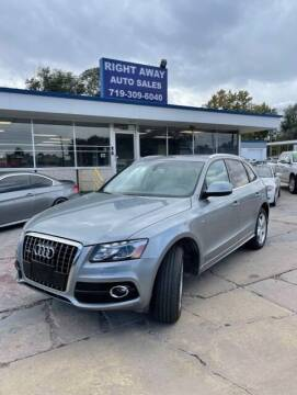 2011 Audi Q5 for sale at Right Away Auto Sales in Colorado Springs CO